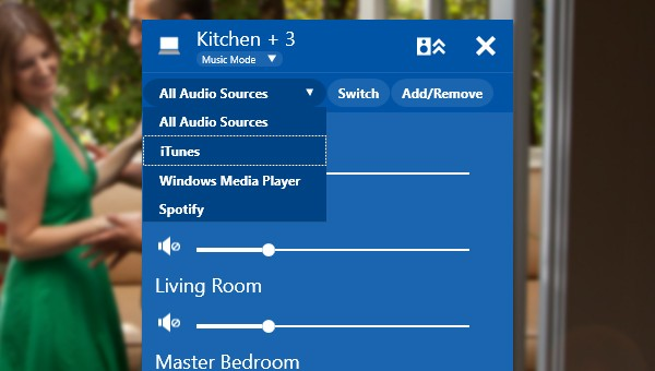 Play-Fi Windows App - multi-room volume control