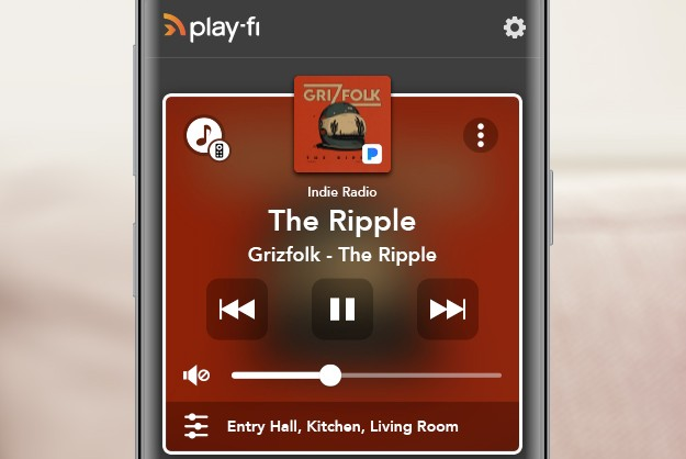 Android Play-Fi App - multi-room volume control